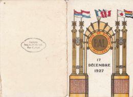 FRANCE-INDOCHINE - 1927 - Carnet De Bal - Foire De Saïgon (1ère Foire Du 17/12/27 Au 15/1/28) - Recordatorios