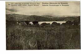 CPA- Carte Postale -Est Africain Allemand  Positions Allemandes De Kissegnies -VM16401 - Rwanda