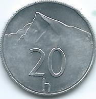Slovakia - 20 Halierov - 2002 - KM18 - Eslovaquia