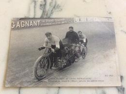 Les Sports.Nos Stayers Et Leurs Entraîneurs Guignard Stayer Français Recordman Du Monde De L'heure Entraîné Par Bertin- - Cycling