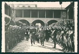 Militari Fascismo Mussolini E Hitler A Firenze 1938 FP M13 - Italien