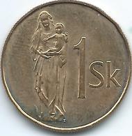 Slovakia - 1 Koruna - 1995 - KM12 - Eslovaquia
