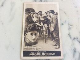 Équipe Automoto-Hutchinson Souchard Champion De France. - Cycling