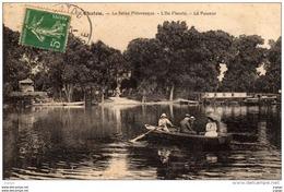 CHATOU La Seine Pittoresque. L'Ile Fleurie. Le Passeur. - Chatou