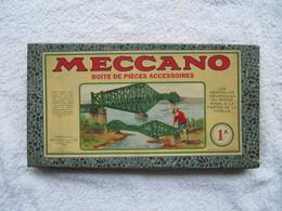 Boîte  VIDE   Jeu De Construction MECCANO - N°  1 A   (4817) - Jouets Anciens