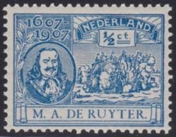 Nederland      .  NVPH     .     87    .    **     .    Postfris     .   /   .  MNH - 1891-1948 (Wilhelmine)