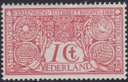 Nederland   .    NVPH  84  (2 Scans)       .   **     . Postfris   .   /   .   MNH - 1891-1948 (Wilhelmine)