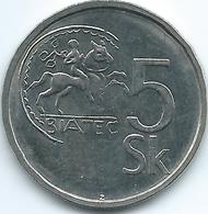 Slovakia - 5 Korún - 1995 - KM14 - Eslovaquia
