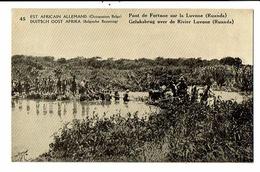 CPA- Carte Postale-Est Africain Allemand Ruanda-Pont De Fortune Sur La Luvone VM16407 - Rwanda