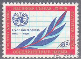 UNITED NATIONS NY   SCOTT NO .209   USED   YEAR 1970 - New-York - Siège De L'ONU