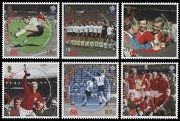 Isle Of Man 2006 - Mi-Nr. 1295-1300 ** - MNH - Fußball / Soccer - Isle Of Man