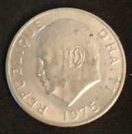 "HAITI - 5 CENTIMES 1975 - KM 119 - FAO - Jean-Claude Duvalier, Dit ""Papa Doc"" - Haïti"
