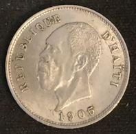 HAITI - 5 CENTIMES 1905 - KM 53 - Président Nord Alexis - Haití