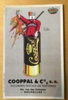 CPA Cooppal & Cie Poudrerie Royale De Wetteren - Publicité
