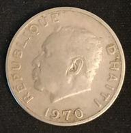 """HAITI - 10 CENTIMES 1970 - KM 63 - François Duvalier Dit """"Papa Doc"""" - Haití"""