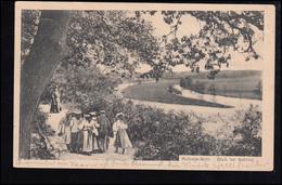 Foto-AK Mülheim-Ruhr: Blick Ins Ruhrtal, 2.7.1922 - Deutschland