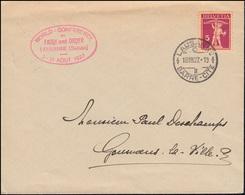 Schweiz 200x Tellknabe Auf Drucksache Glaube Und Ordnung LAUSANNE 18.8.1927 - Timbres