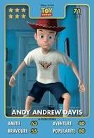 TCG - HEROS DISNEY PIXAR - 071 - Andy Andrew Davis - Toy Story - Disney