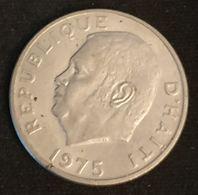 "HAITI - 10 CENTIMES 1975 - KM 120 - FAO - François Duvalier Dit ""Papa Doc"" - Haiti"