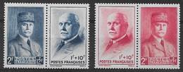 """FRANCE 1943 - Timbres N°568 à N°571 (4 Valeurs) - Neufs, """"Sans Charnière"""". - France"""