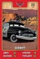 TCG - HEROS DISNEY PIXAR - 090 - Sheriff -  Cars - Disney