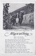 """DT- Reich (002513) Propagandakarte Liederkarte """"Alle Tage Ist Kein Sonntag"""" Gelaufen Von Kehl 1.7.1942 - Germany"""