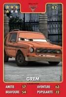 TCG - HEROS DISNEY PIXAR - 097 - Grem -  Cars - Disney