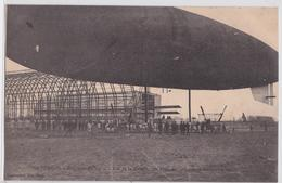 Toul Le Dirigeable Zeppelin Capitaine-Ferber Vue De La Nacelle, Des Appareils Moteurs Et Des Hélices Aviation Militaire - Zeppeline