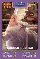 TCG - HEROS DISNEY PIXAR - 101 - Auguste Gusteau -  Ratatouille - Disney