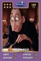 TCG - HEROS DISNEY PIXAR - 107 - Anton Ego -  Ratatouille - Disney