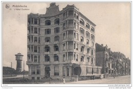 MIDDELKERKE : HOTEL EXCELSIOR Digue De Mer - Middelkerke