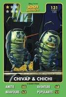 TCG - HEROS DISNEY PIXAR - 131 - Chivap & Chichi -  1001 Pattes - Disney