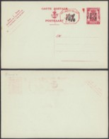 Belgique - Entier Postal Sur  Carte Postale Neuve - 1 Fr - 10%........................................ (DD) DC-7511 - Postwaardestukken