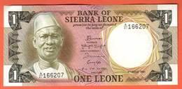 Billet - SIERRA  LEONE  1 Leone  04 08 1984  Pick 5e - Sierra Leone