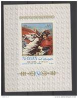 Ajman 1968 Napoléon Bonaparte Imperf - Napoleon