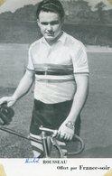 CYCLISTE - Michel ROUSSEAU - Offert Par France Soir - Cyclisme