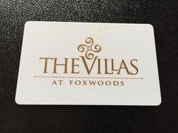 Hotelkarte Room Key Keycard Clef De Hotel Tarjeta Hotel  FOXWOOD  MASHANTUCKET PEQUOT TRIBAL NATION - Telefonkarten