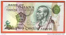 GHANA  - 2 Cédis  Du  02 01 1977  - Pick 14c - Ghana