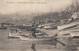MARSEILLE - L'ESTAQUE PLAGE - COIN DU PORT - L'Estaque
