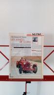 Ancienne Coupure De Presse Automobile Alfa Romeo 8C Monza De 1931 - Voitures (Courses)