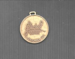 """BELGIQUE MEDAILLE SOUVENIR  """"DE GORDEL""""SEPTEMBRE 1991 2 SCANS - Touristiques"""