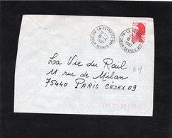 LSC 1987  - Cachet Boite Mobile - LA PEYRATTE  BM  (Deux Sèvres) - Marcophilie (Lettres)