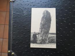 34 BELLE ISLE EN MER : Menhir Jean - Belle Ile En Mer