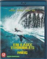 """Film Dvd BLU RAY Eau Trouble Avec Jason Statham Histoire De Requin ' Excellent état """" - Horreur"""