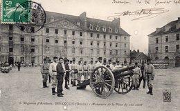 """-25 --5è  .Régiment D'Artillerie,BESANCON - """"Manoeuvre De La Pièce 120 Court"""" ,édit:Dijon ?.. - Non Classés"""