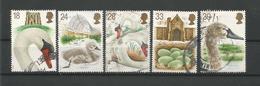 Gr. Britain 1993 Swan Y.T. 1645/1649 (0) - 1952-.... (Elisabetta II)