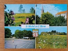 ST MICHEL EN L'HERM   4 Vues - Saint Michel En L'Herm