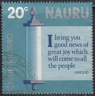 NAURU     SCOTT NO  217     USED     YEAR 1980 - Nauru