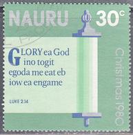 NAURU     SCOTT NO  220     USED     YEAR 1980 - Nauru