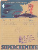 FRANCE - 1939 - SUPERCREMINE - Le Carburant économique - Cars